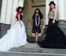 A Maori designer will have her designs show during Melbourne Fashion Festival in March. Photo:...