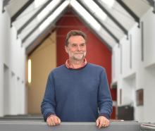 Former rubbish-truck crew member Clive Humphreys is now the acting head of Dunedin Art School....