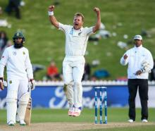 New Zealand's bowlers rose the the challenge against South Africa. Photo: Getty