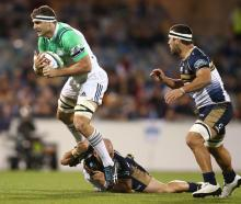 The Highlanders pulled through against the Brumbies. Photo: Getty