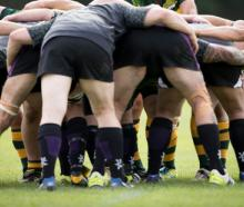 A player has been taken to hospital in a critical condition after collapsing during a rugby game at the World Masters Games. Photo: Dean Purcell