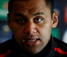 Billy Vunipola. Photo Reuters