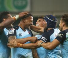 The Waratahs will be looking for a win against the Highlanders in Dunedin on Saturday. Photo Getty