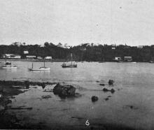 Oban township, Halfmoon Bay, Stewart Island. - Otago Witness, 30.5.1917.