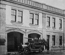 Fire protection for the southern suburbs of Dunedin: South Dunedin Brigade's new fire station in...