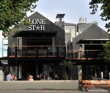 Lone Star Dunedin's premises on George Street. Photo: ODT.