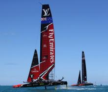 Team NZ moved within a win of glory with their most comprehensive starting performance of the...
