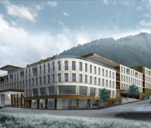 The proposed $100 million development in central Queenstown. Graphic: supplied.