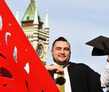 University of Otago student Mark Kliegl (28), of Dunedin, will graduate with a postgraduate...
