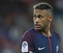Neymar during PSG's game against Toulouse. Photo: Reuters