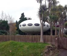 The Futuro house in Warrington has been sold. Photo: Supplied