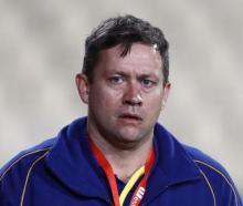 Otago coach Cory Brown. Photo Getty