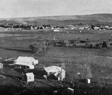 Owaka, the principal township of the Catlins River district, where sawmilling, dairying and...