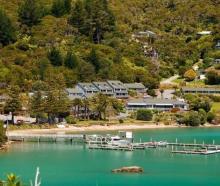 Portage Resort Hotel in Marlborough's Kenepuru Sound. Photo: Supplied