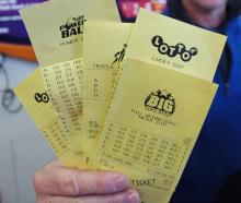 Despite their now-bulging bank balance, the young Lotto winning couple resisted the urge to...