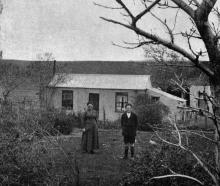 The homes of our soldiers who are serving King and country: Mrs W. Strode, of Kyeburn, who has...