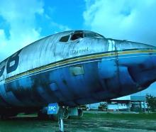 This former Air New Zealand Douglas DC-8 lying abandoned in Brazil is set to be restored at the...