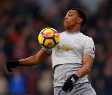 Anthony Martial scored the winner for Manchester United. Photo Reuters