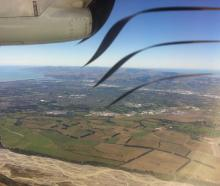 It looked like such a nice view, out the window of the ATR bound for Dunedin. But I didn't...