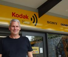 Photo shop manager  Steve Worley introduced a ''Wanaka living wage''  12 months ago  to attract...