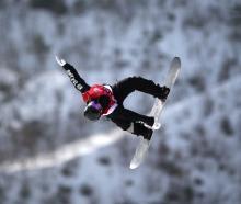 Mount Aspiring College pupil Zoi Sadowski-Synnott competes in the women's snowboard big air...