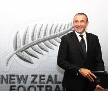 Swiss Fritz Schmid is the new All Whites football coach. Photo: Getty Images