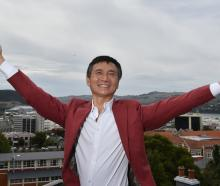 Li Cunxin, Queensland Ballet artistic director and writer of Mao's Last Dancer,  was in Dunedin...