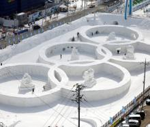 Participants in the Games - the first Winter Olympics hosted by an Asian nation outside Japan -...