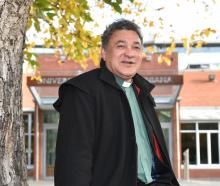 """The Rev Wayne Te Kaawa is """"humbled'' to be the first Maori chaplain at a university. PHOTO:..."""