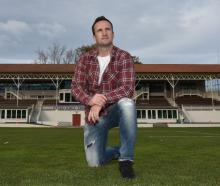 Neil Broom, who is giving up the longer version of cricket, at the University of Otago Oval...