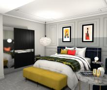 A taste of what the new 5-star boutique Wains Hotel will look like. Photo: Supplied