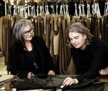 Zambesi fashion designers Liz Findlay, also co-owner, and Dane Johnston. Photo: NZ Herald