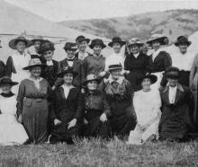 Members of the Taieri Women's Patriotic Association who catered at the recent Taieri Collie Club...