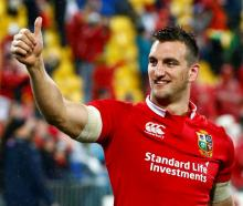 Sam Warburton. Photo: Reuters