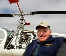 Warbirds over Wanaka founder Sir Tim Wallis. Photo: Stephen Jaquiery