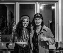 Eva Cambourn and Nick Williamson, founders of Grumpysuns. Photos: Supplied