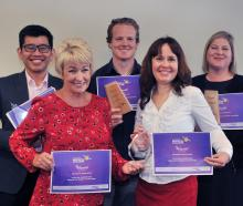 Southern Innovation Challenge category winners (back row, left to right) antidote Pharmacies...