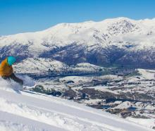 It was a stunning day for those lucky enough to be up the mountain enjoying fresh powder...