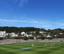 Today is the first day for the Black Caps test against Bangladesh at the Basin Reserve. Photo:...