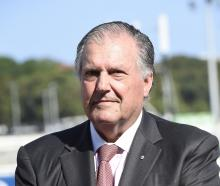 John Messara, whose report recommends seven tracks from Timaru south should be phased out. Photo:...