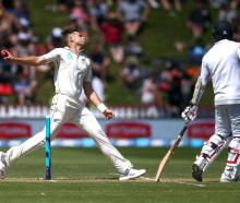 Tim Southee took six wickets in Sri Lanka's first innings. Photo: Getty