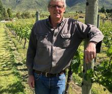 Grant Taylor, of Valli Vineyards. Photo: Supplied