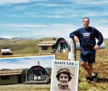 Snow Farm manager Sam Lee; the Daisy Lee hut (left) next to the Bob Lee Hut; Daisy Lee. Photos:...