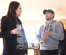 Prime Minister Jacinda Ardern meets Morven sharemilker Leo Bensegues in May last year. Mr...