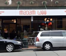 Madam Woo restaurant in Stuart St, Dunedin. Photo: Peter McIntosh