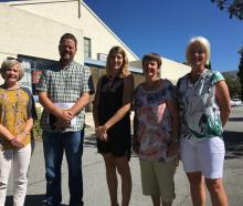 Cromwell Cultural Centre Group members (from left) Gillian Watt, James Dicey, Jessie Sutherland,...