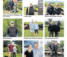 The Ballance Farm Environments Awards nominees. Photo: Allied Press