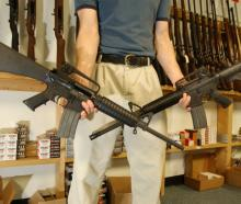 The National Shooting Sports Foundation, which represents gun manufacturers, estimates there are...