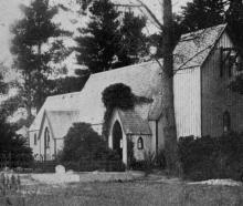 St John's Church, Waikouaiti, which is 50 years old. - Otago Witness, 5.3.1919.