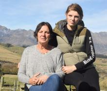 Sandra and Rebecca Stevens spent a long Monday night waiting for news of their husband and father...